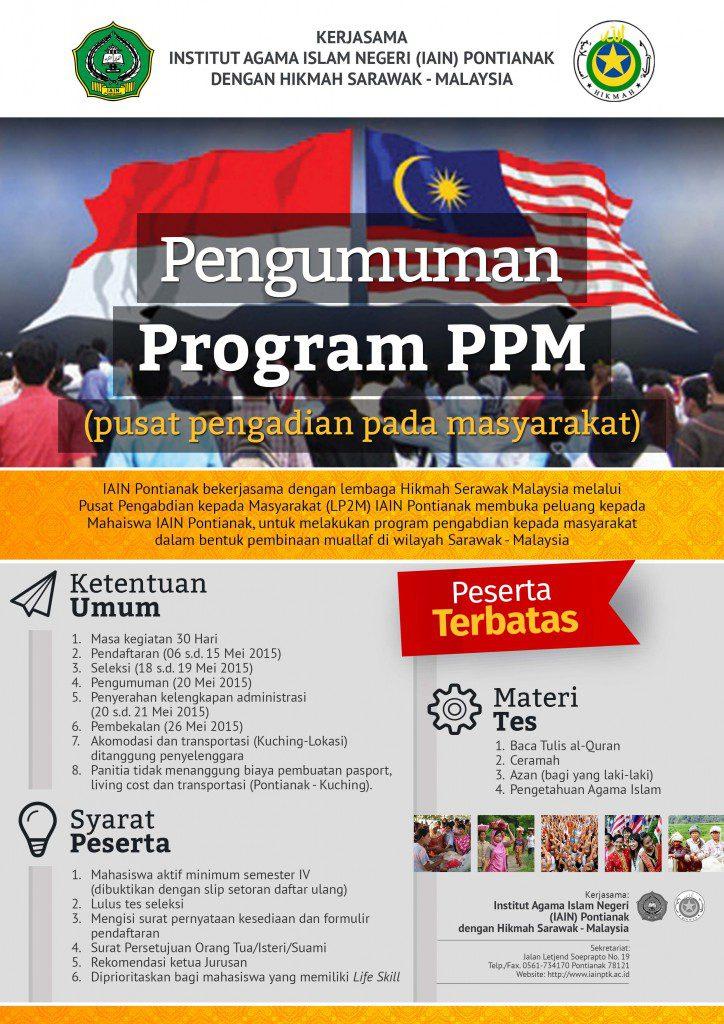 Poster Program PPM --- A3+