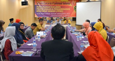 Sosialisasi & Pendampingan Penyusunan Dokumen PPRG IAIN Pontianak