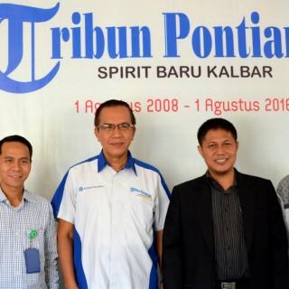 Pemimpin Redaksi Tribun Pontianak Sambut Baik Kunjungan dari IAIN Pontianak
