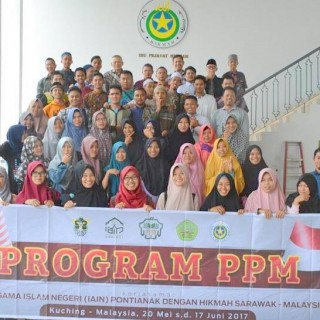 50 Mahasiswa PTKIN Sukses Lakukan Pengabdian pada Masyarakat di Sarawak-Malaysia