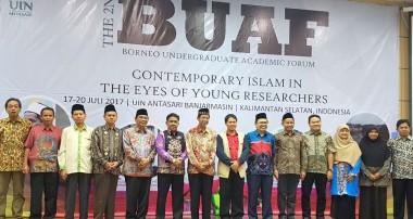 8 Mahasiswa IAIN Pontianak Ikuti Kegiatan The 2nd BUAF  di UIN Antasari Banjarmasin