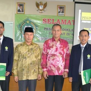 """2 Kasubbag IAIN Pontianak Raih """"Prestasi Istimewa Sangat Memuaskan"""" Pada Kegiatan Diklatpim IV Di Jakarta"""