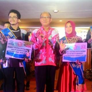 Suci, Mahasiswa IAIN Pontianak Juara 1 Putri Duta Genre Kalbar 2017