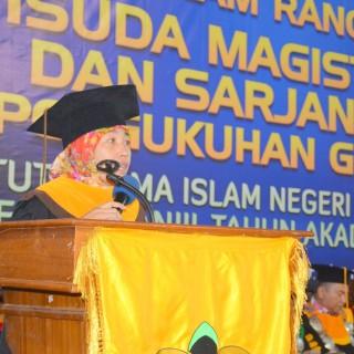 Ketua Senat Ajak Lulusan IAIN Pontianak Berkontribusi Meningkatkan Indek Pembangunan Manusia